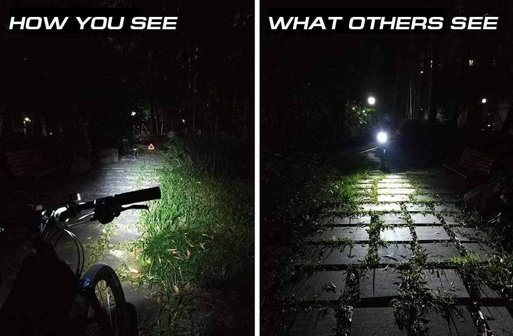 LERMX Bike Flashlight 2020
