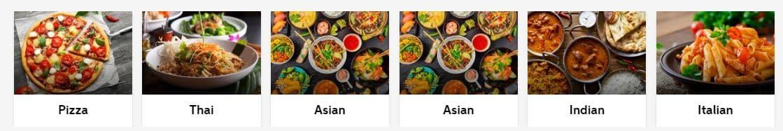 Popular Cuisines