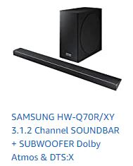The best of the best Samsung HW-Q70R XY