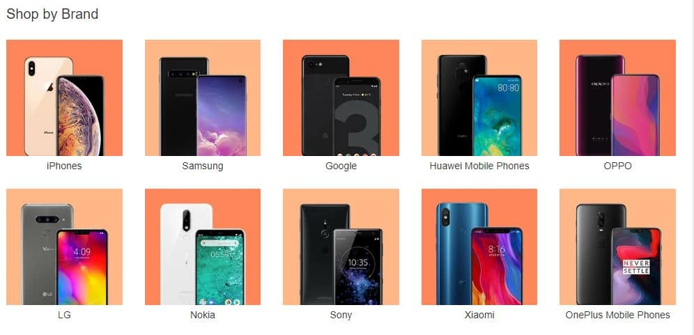 Coupons - Phones and Accessories